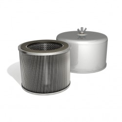 Luftfilter mit integrierter Schalldämpfung FT.230.30P für Verdichter