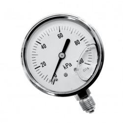 Druckmesser mit Glycerin Gefüllt für Druck